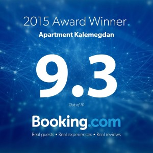 Booking apt Kalemegdan